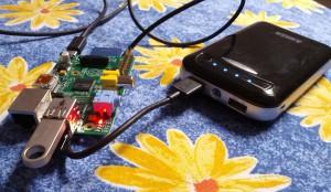 Raspberry Pi external battery