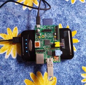 RPi external battery