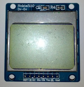 Nokia 5110 LCD Monochrome Display