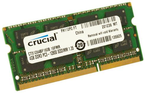 Crucial 4GB DDR3