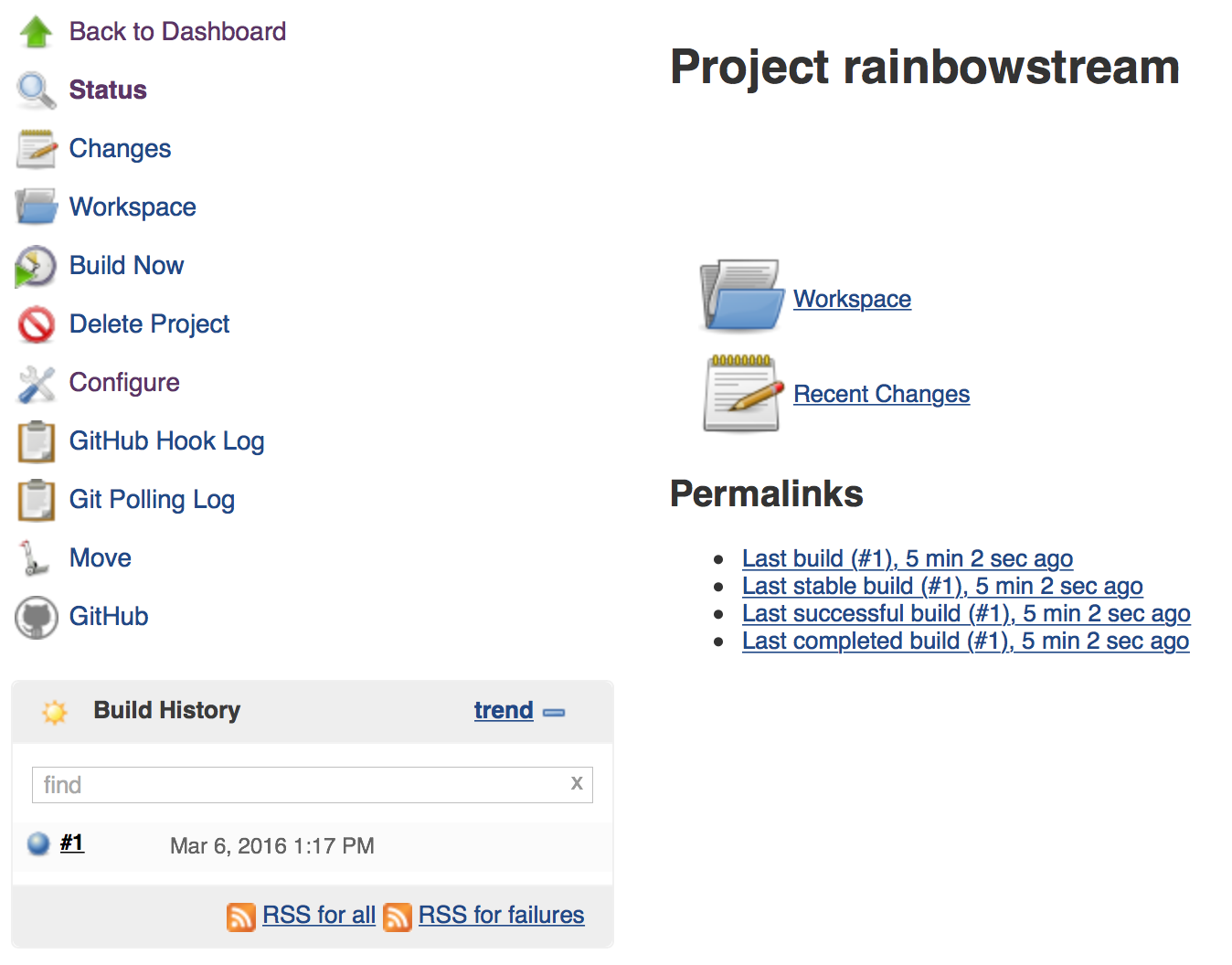 Jenkins, Github, Docker and peace of mind